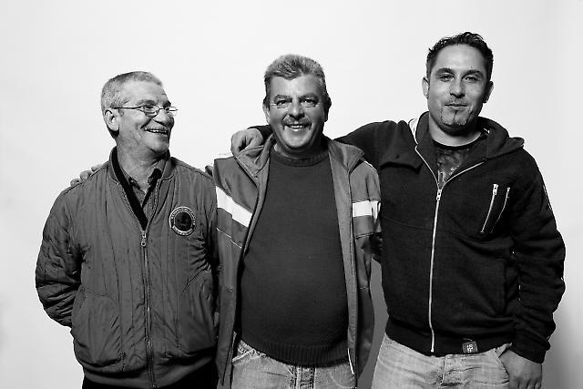 """Macello, Emanuelle und Paolo, """"Bar Sicilia"""""""
